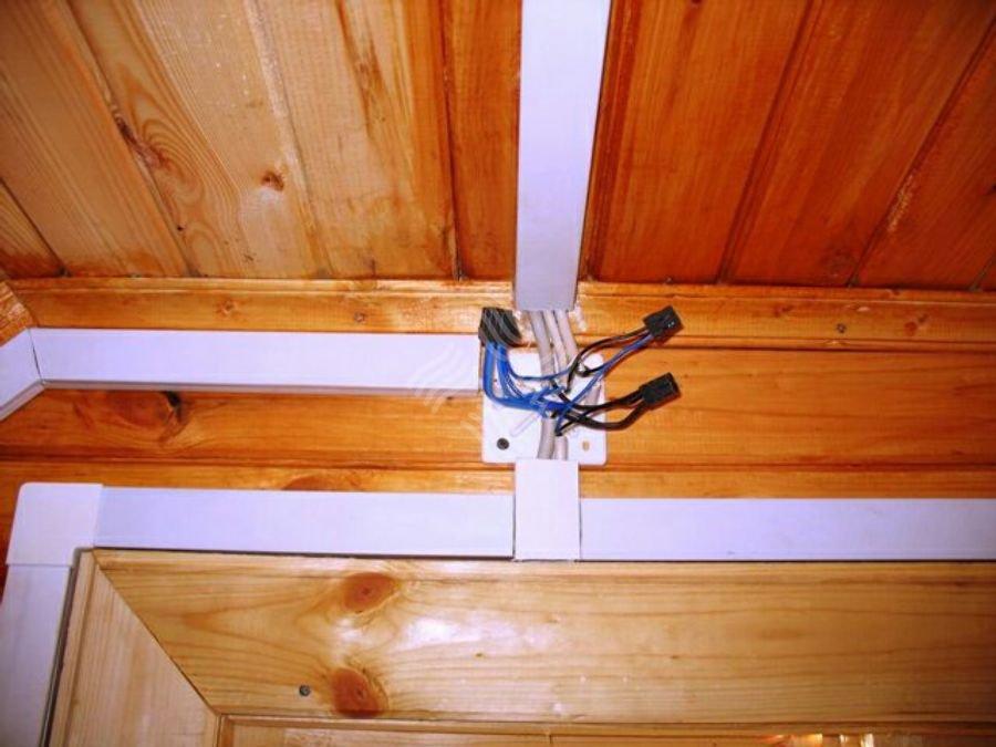 Проводка в деревянном доме 3