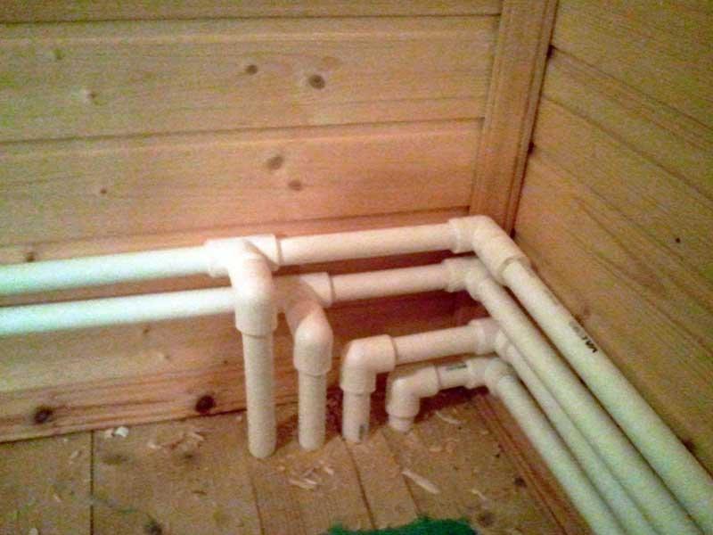 Монтаж отопления в деревянном доме своими руками