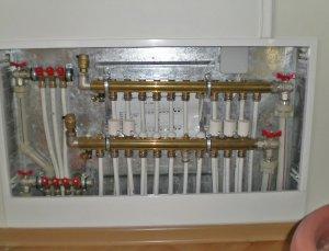 Установка конвекторов отопления в пол